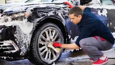 propere auto, carwash, verkopen, autoverkoop