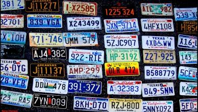 nummerplaat, auto, verkoop